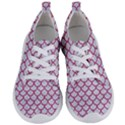 SCALES1 WHITE MARBLE & PINK DENIM (R) Women s Lightweight Sports Shoes View1