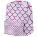 SCALES1 WHITE MARBLE & PINK DENIM (R) Giant Full Print Backpack View4