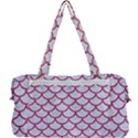 SCALES1 WHITE MARBLE & PINK DENIM (R) Multi Function Bag	 View2