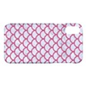 SCALES1 WHITE MARBLE & PINK DENIM (R) Apple iPhone X Hardshell Case View1