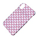 SCALES1 WHITE MARBLE & PINK DENIM (R) Apple iPhone X Hardshell Case View4