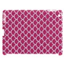 SCALES1 WHITE MARBLE & PINK DENIM Apple iPad 3/4 Hardshell Case (Compatible with Smart Cover) View1