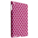 SCALES1 WHITE MARBLE & PINK DENIM Apple iPad 3/4 Hardshell Case (Compatible with Smart Cover) View2