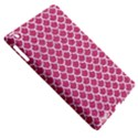 SCALES1 WHITE MARBLE & PINK DENIM Apple iPad 3/4 Hardshell Case (Compatible with Smart Cover) View5