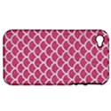 SCALES1 WHITE MARBLE & PINK DENIM Apple iPhone 4/4S Hardshell Case (PC+Silicone) View1