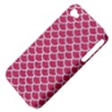 SCALES1 WHITE MARBLE & PINK DENIM Apple iPhone 4/4S Hardshell Case (PC+Silicone) View4