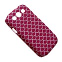 SCALES1 WHITE MARBLE & PINK DENIM Samsung Galaxy S III Classic Hardshell Case (PC+Silicone) View5