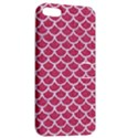SCALES1 WHITE MARBLE & PINK DENIM Apple iPhone 5 Hardshell Case with Stand View2