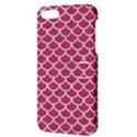 SCALES1 WHITE MARBLE & PINK DENIM Apple iPhone 5 Hardshell Case with Stand View3