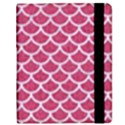 SCALES1 WHITE MARBLE & PINK DENIM Samsung Galaxy Tab 8.9  P7300 Flip Case View2