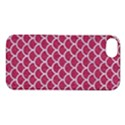 SCALES1 WHITE MARBLE & PINK DENIM Apple iPhone 5S/ SE Hardshell Case View1
