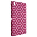 SCALES1 WHITE MARBLE & PINK DENIM Samsung Galaxy Tab Pro 8.4 Hardshell Case View2