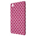 SCALES1 WHITE MARBLE & PINK DENIM Samsung Galaxy Tab Pro 8.4 Hardshell Case View3