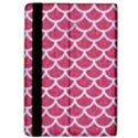 SCALES1 WHITE MARBLE & PINK DENIM Apple iPad Pro 12.9   Flip Case View4