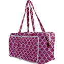 SCALES1 WHITE MARBLE & PINK DENIM Multi Function Bag View3