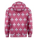 ROYAL1 WHITE MARBLE & PINK DENIM (R) Men s Pullover Hoodie View2