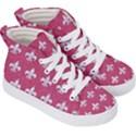 ROYAL1 WHITE MARBLE & PINK DENIM (R) Kid s Hi-Top Skate Sneakers View3