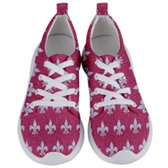 Royal1 White Marble & Pink Denim (r) Women s Lightweight Sports Shoes