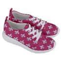 ROYAL1 WHITE MARBLE & PINK DENIM (R) Women s Lightweight Sports Shoes View3