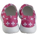 ROYAL1 WHITE MARBLE & PINK DENIM (R) Women s Lightweight Slip Ons View4