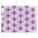 ROYAL1 WHITE MARBLE & PINK DENIM Apple iPad 3/4 Hardshell Case View1