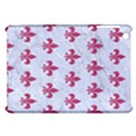 ROYAL1 WHITE MARBLE & PINK DENIM Apple iPad Mini Hardshell Case View1