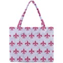 ROYAL1 WHITE MARBLE & PINK DENIM Mini Tote Bag View1