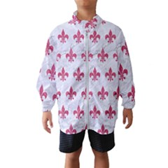 ROYAL1 WHITE MARBLE & PINK DENIM Windbreaker (Kids)