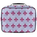ROYAL1 WHITE MARBLE & PINK DENIM Full Print Lunch Bag View2