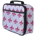 ROYAL1 WHITE MARBLE & PINK DENIM Full Print Lunch Bag View4