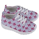 ROYAL1 WHITE MARBLE & PINK DENIM Kids  Lightweight Sports Shoes View3