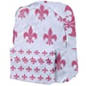 ROYAL1 WHITE MARBLE & PINK DENIM Giant Full Print Backpack View4