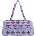 ROYAL1 WHITE MARBLE & PINK DENIM Multi Function Bag	 View1