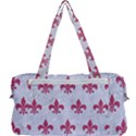 ROYAL1 WHITE MARBLE & PINK DENIM Multi Function Bag	 View2