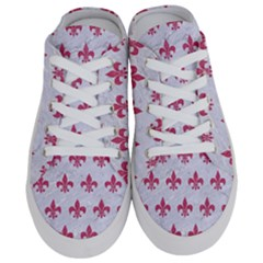 ROYAL1 WHITE MARBLE & PINK DENIM Half Slippers