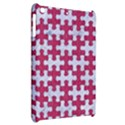 PUZZLE1 WHITE MARBLE & PINK DENIM Apple iPad Mini Hardshell Case View2