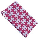 PUZZLE1 WHITE MARBLE & PINK DENIM Apple iPad Mini Hardshell Case View5