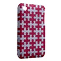 PUZZLE1 WHITE MARBLE & PINK DENIM iPhone 3S/3GS View2