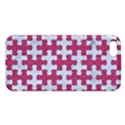PUZZLE1 WHITE MARBLE & PINK DENIM Apple iPhone 5 Premium Hardshell Case View1