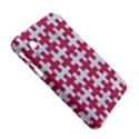PUZZLE1 WHITE MARBLE & PINK DENIM Samsung Galaxy Tab 2 (7 ) P3100 Hardshell Case  View5
