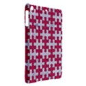 PUZZLE1 WHITE MARBLE & PINK DENIM iPad Air Hardshell Cases View2