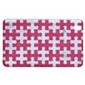 PUZZLE1 WHITE MARBLE & PINK DENIM Samsung Galaxy Tab Pro 8.4 Hardshell Case View1