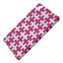 PUZZLE1 WHITE MARBLE & PINK DENIM Samsung Galaxy Tab Pro 8.4 Hardshell Case View5