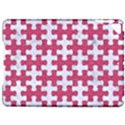 PUZZLE1 WHITE MARBLE & PINK DENIM Apple iPad Pro 9.7   Hardshell Case View1