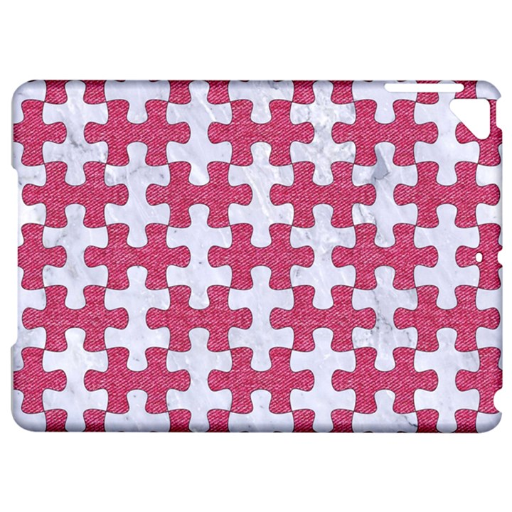 PUZZLE1 WHITE MARBLE & PINK DENIM Apple iPad Pro 9.7   Hardshell Case