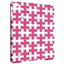 PUZZLE1 WHITE MARBLE & PINK DENIM Apple iPad Pro 9.7   Hardshell Case View2