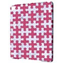 PUZZLE1 WHITE MARBLE & PINK DENIM Apple iPad Pro 9.7   Hardshell Case View3
