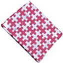 PUZZLE1 WHITE MARBLE & PINK DENIM Apple iPad Pro 9.7   Hardshell Case View4