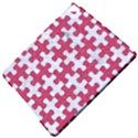 PUZZLE1 WHITE MARBLE & PINK DENIM Apple iPad Pro 9.7   Hardshell Case View5