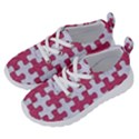 PUZZLE1 WHITE MARBLE & PINK DENIM Running Shoes View2